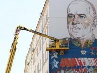 Самый большой в мире портрет маршала Жукова появится на Арбате