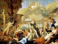 Мединский осмотрел экспозицию Никола Пуссен «Царство Флоры»
