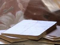 Сын передал в музей ВОВ дневники отца, склеенные из туалетной бумаги