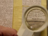 В Калифорнийском университете нашли тайник с письмами Марка Твена