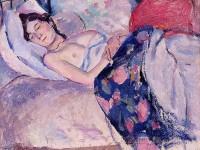 Выставка в Музее имени Пушкина знакомит с работами Леонара Фужиты и Жюля Паскина