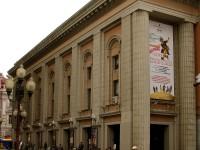 Театр имени Вахтангова представил премьеру спектакля «Девичник над вечным покоем»