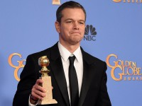 Мэтт Деймон стал обладателем «Золотого глобуса» за роль в «Марсианине»
