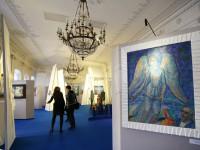 Дина Рубина открыла выставку в Шереметевском дворце