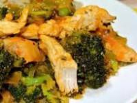 Куриные грудки в сочетании с овощами