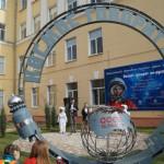 В Волгограде установили монумент в честь полета Гагарина