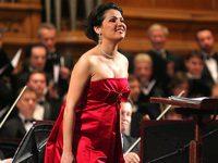 Анна Нетребко выступила на фестивале «Звезды белых ночей»
