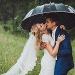 Дождь не повод отменять свадьбу