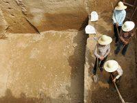 В Китае обнаружили кирпичные гробницы с артефактами возрастом более 700 лет