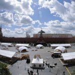 """Как Москва готовится к открытию книжного фестиваля """"Красная площадь"""""""