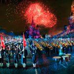 """В Москве идет подготовка к военно-музыкальному фестивалю """"Спасская башня"""""""