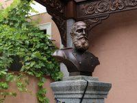 В Симферополе открыли бюст императора Александра III