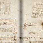 """Оцифрованный манускрипт Леонардо да Винчи """"Кодекс Арундела"""" - в свободном доступе"""