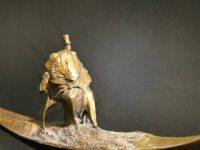 Выставка скульптурных портретов «Сам Дягилев» открылась в Академии танца Бориса Эйфмана