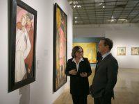 Дмитрий Медведев посетил Третьяковскую галерею
