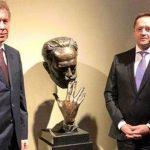 В Королевском театре Дании появился бюст Чайковского