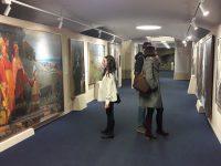 В Италии начала свою работу выставка выпускников Российской академии живописи Ильи Глазунова