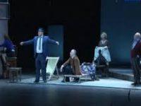 Премьера в Театре имени Моссовета! Сергей Юрский поставил триллер Reception