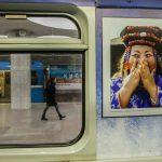 В новосибирском метро запустили уникальный поезд