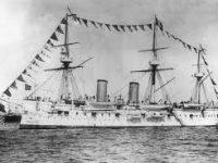 В Японском море обнаружен крейсер «Дмитрий Донской»