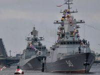 В Петербурге и Кронштадте прошла генеральная репетиция главного парада ко Дню ВМФ