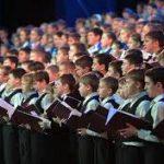 Детский хор России готовится к выступлению в Кремлевском дворце