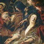 Александро-Невская Лавра отпустила на выставку в Эрмитаж картину Йорданса