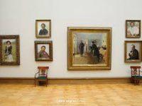 Подготовка к выставке. В Новой Третьяковке реставрируют рамы к картинам Ильи Репина