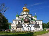 При пожаре в музее Новоиерусалимского монастыря экспонаты не пострадали