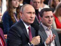 Владимир Путин принял участие в пленарном заседании Медиафорума «Правда и справедливость» в Сочи