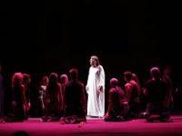 Спектакль-акцию «Рок. Дневник Анны Франк» представили в театре имени Пушкина