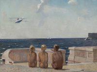 Выставка работ Александра Дейнеки открылась в Курске