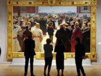 Более 600 тысяч человек посетили выставку Репина в Третьяковской галерее