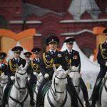 """На фестиваль """"Спасская башня"""" выступили дети-конники"""