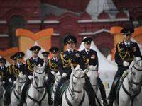 На фестиваль «Спасская башня» выступили дети-конники
