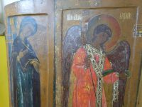 В Астрахани обнаружили неизвестные иконы эпохи дворцовых переворотов