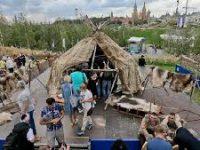 Фестиваль Русского географического общества начался в парке «Зарядье»