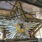 Реставрация звезды Северного речного вокзала практически завершена