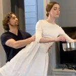 Артисты Михайловского театра показали балет в самоизоляции
