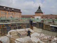 В Тульском кремле завершается создание археологического окна