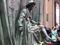 На Арбате открыли памятник Вахтангову