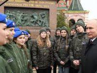 Путин осмотрел Музей археологии Чудова монастыря