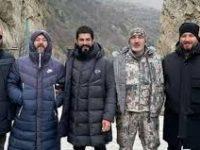 Съемочная группа сериала «Основание: Осман» посетила Чечню